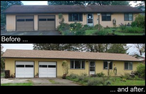 My house... before and after!