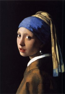 """Girl with a Pearl Earring"" by Johannes Vermeer (1665)"