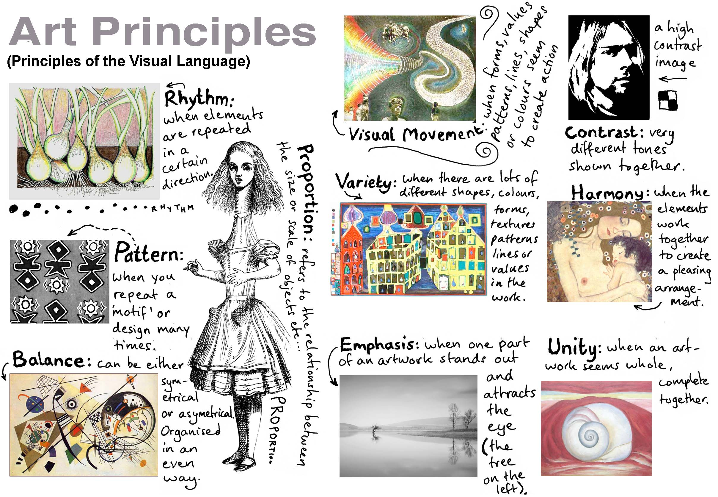 Principles Of Art Balance : The value of critique group tara choate