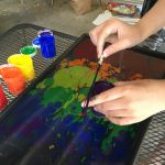 Independence, marbling, friendship, and kids