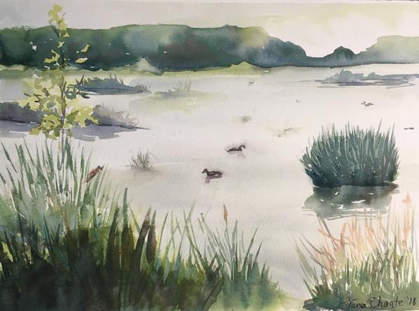 Ladd Marsh Morning